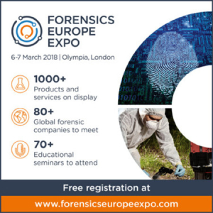 Forensics Europe Conference & Expo Olympia London March 2018