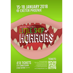 Little Shop of Horrors @ Exeter Phoenix