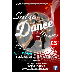 Wolverhampton Salsa Classes for beginners