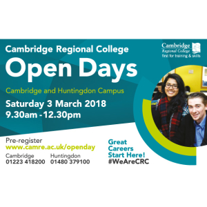 March Open Day 2018