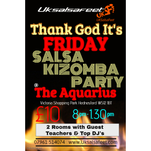 Thank God It's Friday Salsa & Kizomba Party