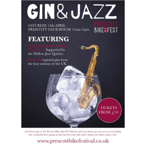 Gin & Jazz Fest at Prescott Bike (plus EV) Festival