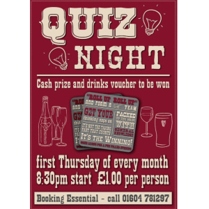 Pub Quiz Night at The White Horse Old.