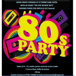 SIDNEY'S SPONSORED EVENTS PRESENTS UK BAND THE POP ROCKIN' 80S