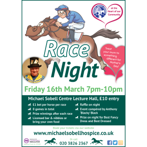 Race Night in aid of Michael Sobell Hospice