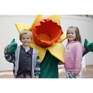 The Red Dragon Centre supports the Great Daffodil Appeal
