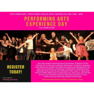 Free Performing Arts Experience Day