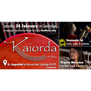 Music, Songs & Rhythms from Southern Italy: Kaiorda in duo