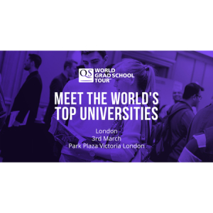 London's Biggest Postgraduate Event - QS World Grad School Tour