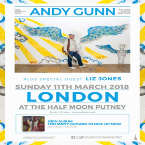 Andy Gunn - Live at The Half Moon Putney