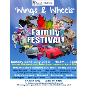 Wings & Wheels Family FESTIVAL 2018