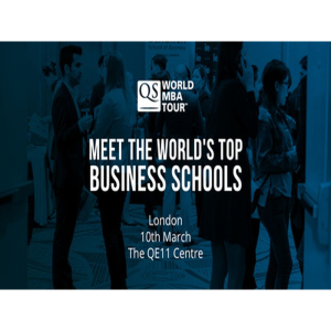 London's Biggest MBA Event - QS World MBA Tour