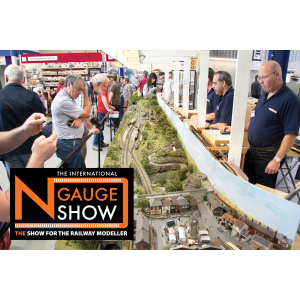 THE INTERNATIONAL N GAUGE SHOW SATURDAY 8th & SUNDAY 9th SEPTEMBER 2018 WARWICKSHIRE EVENT CENTRE