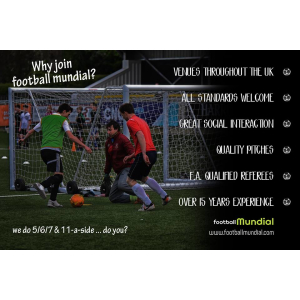 Welwyn & Hatfield 5 a side football league