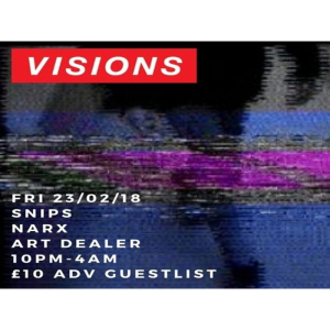 Friday Wave @ Visions: HipHop, R'n'B, Afrobeats, Bashment, Grime