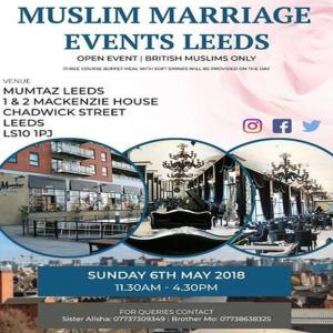 Muslimske speed dating events london