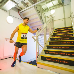 The Broadgate Tower Run Up 2018