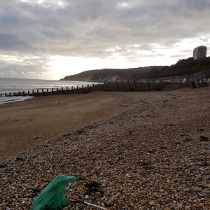 Eastbourne Big Spring beach Clean ~ SEA ~ Survival Equals Action