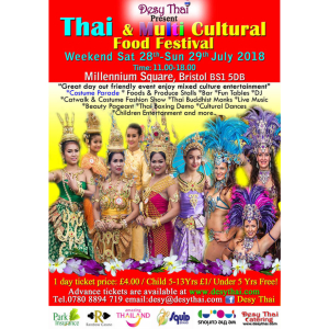Thai & Multi Cultural Food Festival