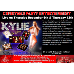 Live at India Sudbury Presents: Kylie On Show - Christmas Party Show