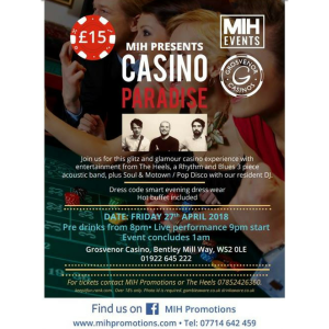 MIH Presents Casino Paradise at Grosvenor Casino