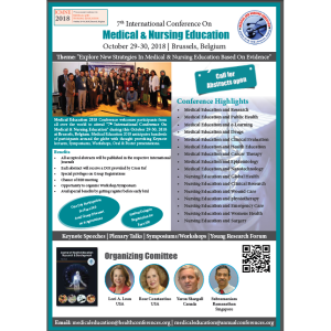 7th International Conference On Medical and Nursing Education