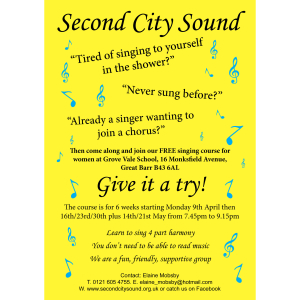 FREE Singing Course for women