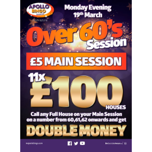 Over 60's special at Apollo