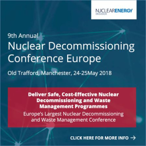 9th Annual Nuclear Decommissioning Conference Europe 2018