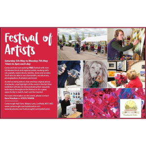 Festival of Artists - Curborough Countryside Centre