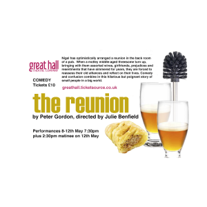 The reunion a comedy by Peter Gordon, directed by Julie Benfield