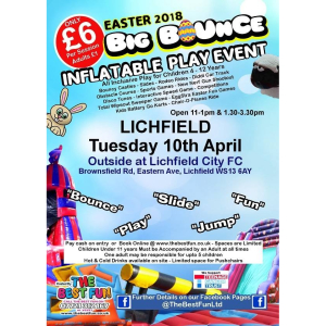 Lichfield Easter Big Bounce