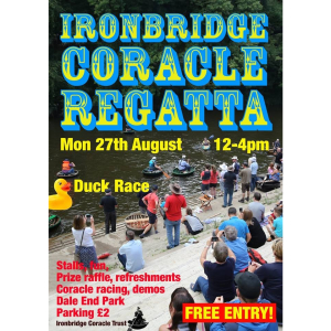 Ironbridge coracle Regatta