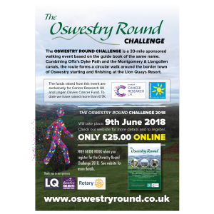 OSWESTRY ROUND CHALLENGE (ORC)