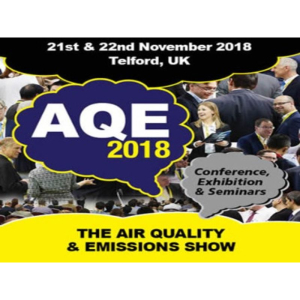 AQE Air Quality and Emission Conference and Exhibition November 2018
