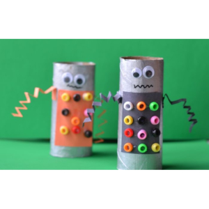Pre-Film Workshop: Recycled Rubbish Robots