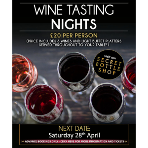 Wine Tasting Nights at Saxtys