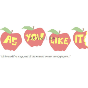 The Pantaloons Theatre Co. Present: As You Like It.
