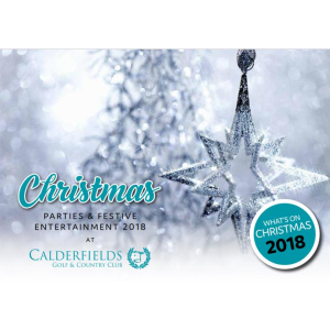 Christmas 2018 at Calderfields Golf Club