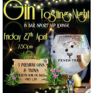 Gin Tasting Night