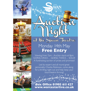 Auction Night at The Swan Theatre