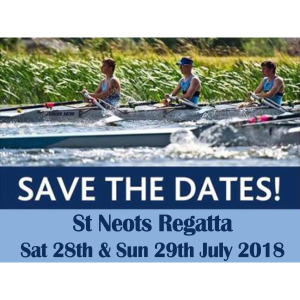 St Neots Rowing Regatta 2018