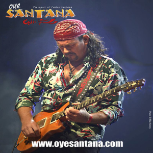 Oye Santana - Carlos Santana Tribute Live at The Half Moon