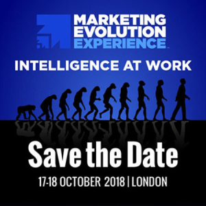 Marketing Evolution Experience London 2018