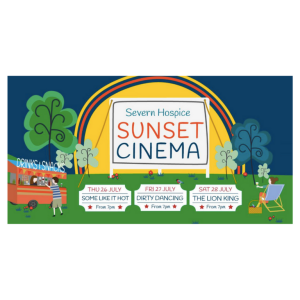 Severn Hospice sunset cinema at Hawkstone Park