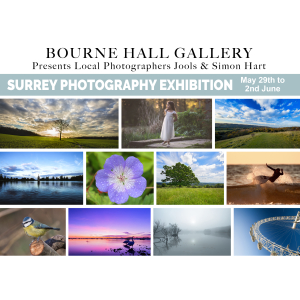 Surrey Photography Exhibition at Bourne Hall Ewell featuring Jools & Simon Hart