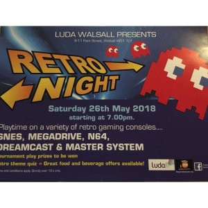 Retro Night at Luda