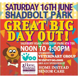 Great Big Day Out at Shadbolt Park #Cuddington #Epsom