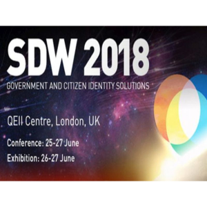 SDW 2018 - The Government Identity Solutions Event, 25-27 June, London