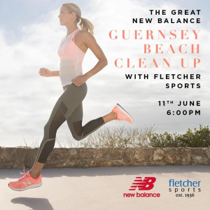 The Great New Balance Guernsey Beach Clean Up